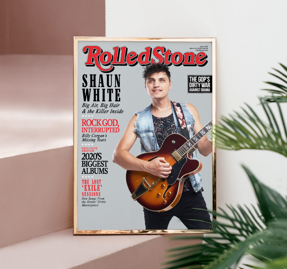 What makes our magazine cover the perfect gift idea?