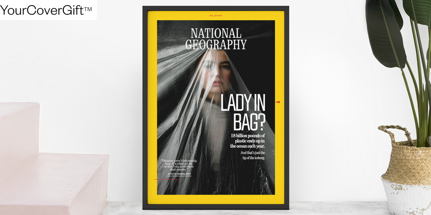 National Geographic magazine cover gift