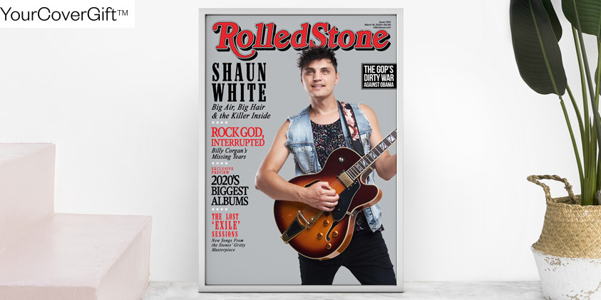 Rolling Stone magazine cover gift