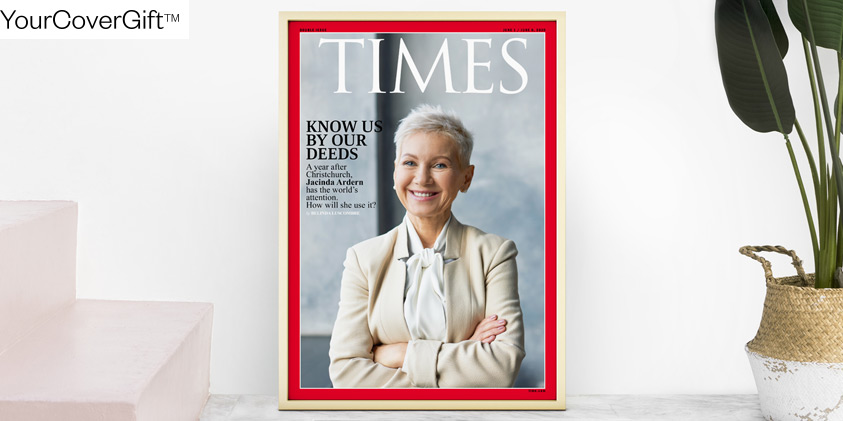 Time magazine cover gift