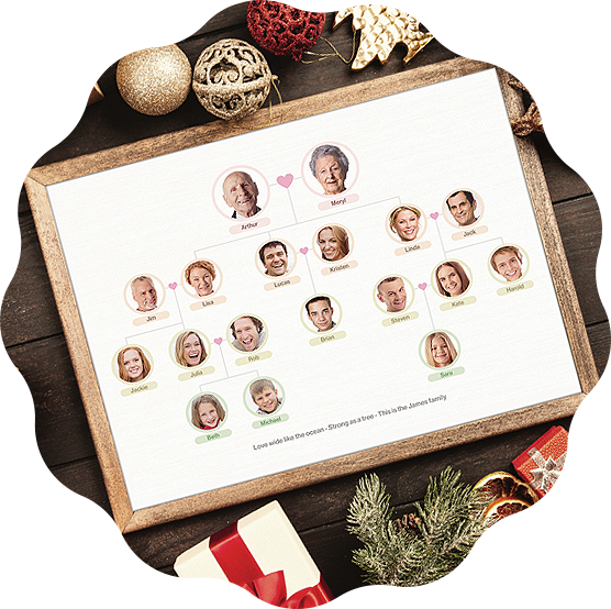 Family Tree is a perfect family gift idea for Christmas 2020